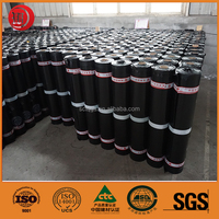 High Quality Wet Installed Self-Adhesive Waterproof Roof Coiled Materials