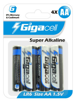Size AA Battery Super alkaline LR6 battery