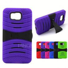 Fashion Anti-Shock Hybrid Combo Case Hard PC+Silicone Back Cover for Samsung Galaxy Grand Prime G530