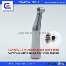 WAP-health high quality red ring dental inner channel push button 1:5 contra angle