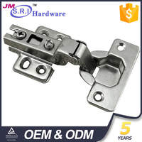 Customized metal stainless steel concealed hinges for wooden doors