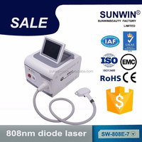 new product Laser 2017 hot sale portable 808nm diode laser hair removal machine/hair removal
