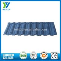 Al-Zinc Stone Chip Coated Blue Roof Tiles Made In China