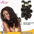 Top Selling Grade 9A Bulk Buying Cuticle Aligned Young Virgin Peruvian Loose Wave Wholesale Hair