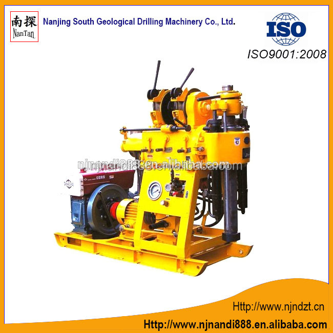 XY-1B-1 ( drilling rig and mud pump integration),drill machine(150m),core drilling machine,Exploration drill,Well drilling rig