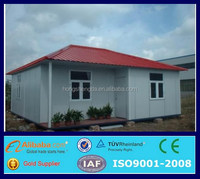 prefabricated light steel luxury homes office villa for sale