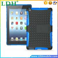 100pcs/lot Heavy Duty Rugged Defender Robot Armor tablet Cover For iPad Pro 12.9 inch Case With Kickstand Shockproof