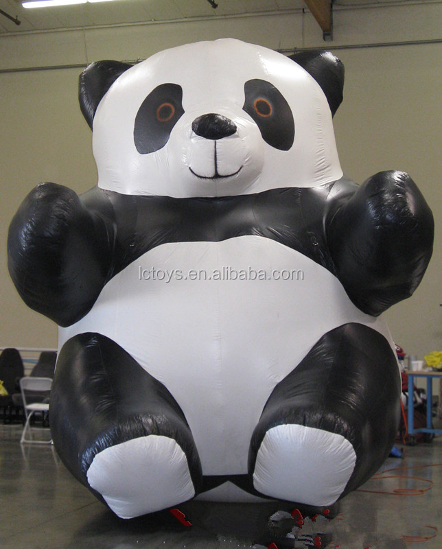 High quality inflatable panda for advertising/exhibition