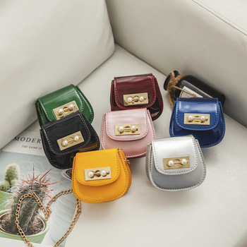 S65221A Hot Sale Girls Baby Patent leather Fashion Mini Bags
