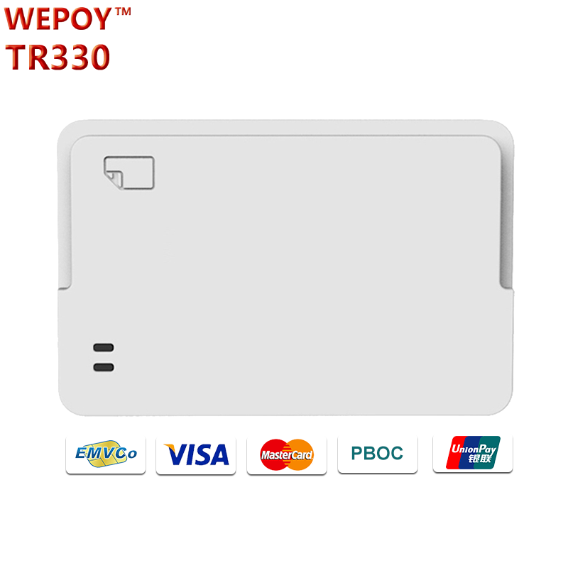 EMV Bluetooth wireless smart card reader