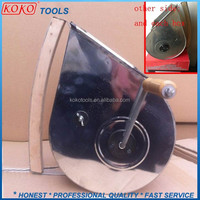 Wood handle portable hand mechanical painting tyrolean flicker machine for flicker machine,