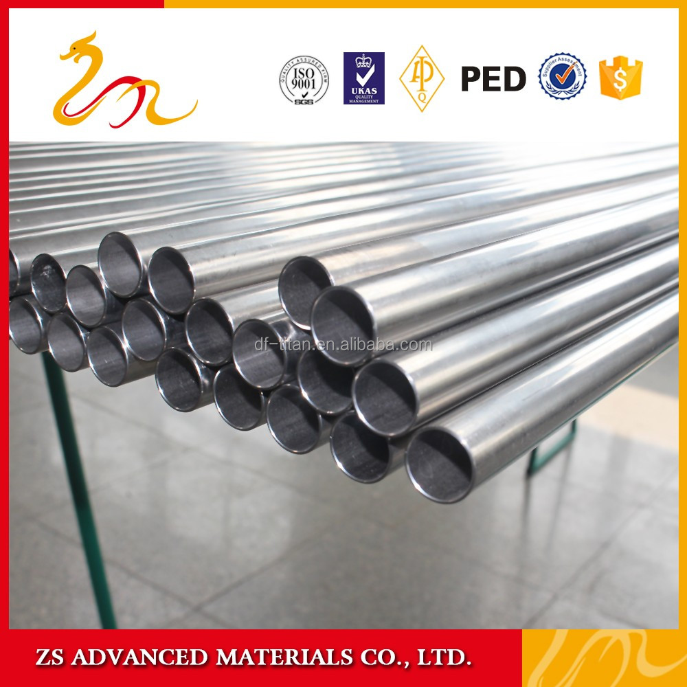 ASTM B338 Gr9 titanium bike / bicycle frame tubing/tube/pipe