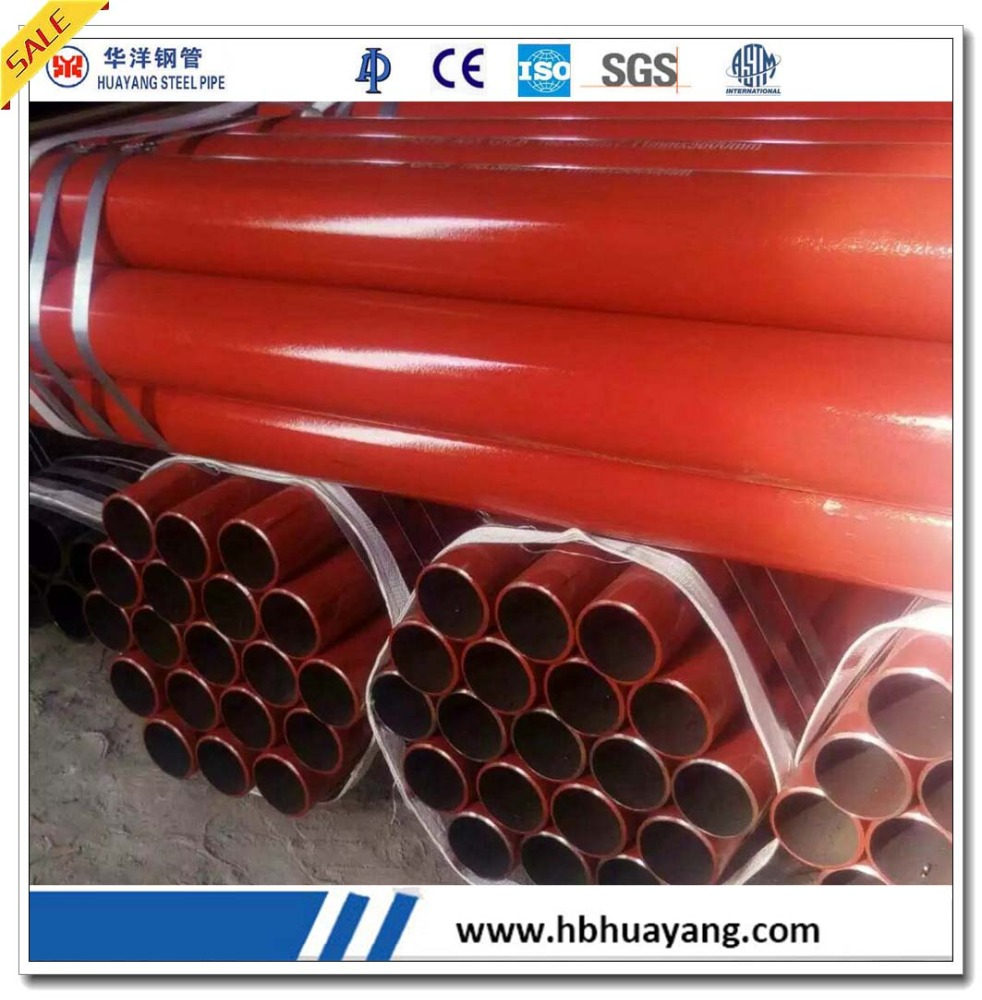 CHINA SUPPLIERS ERW FIRE HYDRANT STEEL PIPES LOW PRICE
