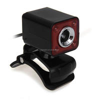 BI161 USB 2.0 0.3MP 4 LED HD Webcam Web Cam Camera MIC for Laptop Computer