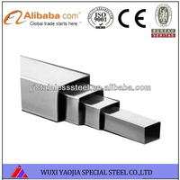 Finely Processed 316 Stainless Steel Square Pipe/Square Tube