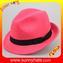 SHL- 1963 alibaba online shopping hat making custom gangster fedora hat