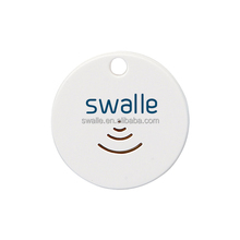 Swalle factory oem bluetooth4.0 pet key wallet anti loss gps tracker phone finder keychain