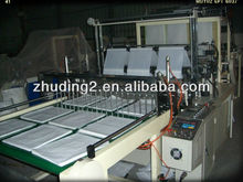 2012 China Manufacture ZD-600 COMPUTER CONTROL SOFT HANDLE BAG SEALING MACHINE