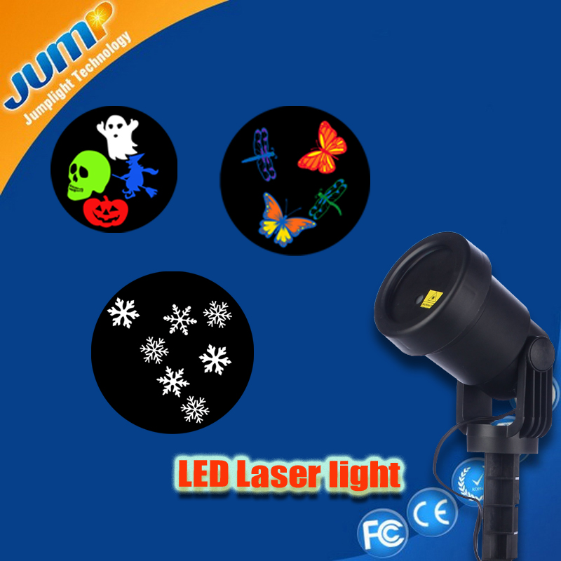 Star christmas light projector outdoor building projector