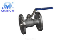 Stainless Steel One- Piece Flanged Ball Valve With High Quality Made In China Lowest Price Factory Price