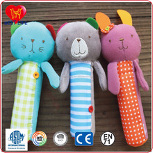 soft plush child toy baby rattle supplier (PTAL0816514)