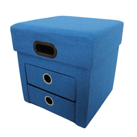 Foldable Design Security Filling Foam Ottoman