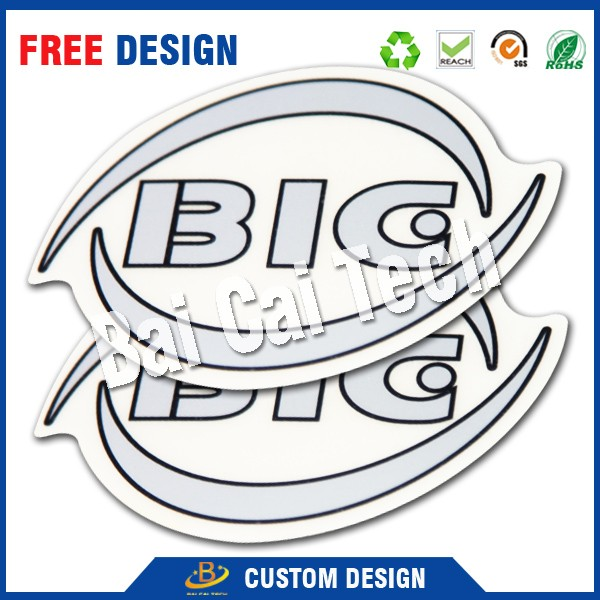 Free design hot selling good quality waterproof 3d lenticular sticker