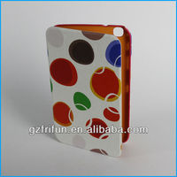 Colorful leather print smart 8 tablet pc leather case
