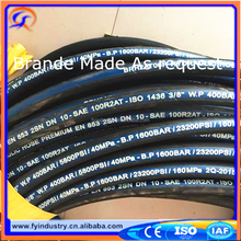 2017 factory en 853 hydraulic rubber hose rubber air brake hose for truck