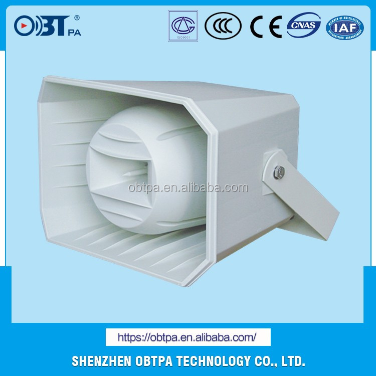 OBT-314 Alibaba 50w high power long throw pa horn speaker for sale