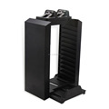 2016 newest hot sale for ps4 multifunctional Storage stand kit Game disc storage tower