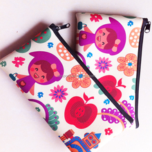 New Design and High Quality Neoprene Kids Pencil Case cosmetic bag