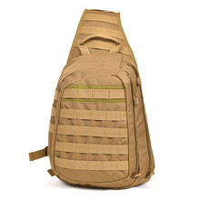 Outdoor Waterproof Big Army Military Men Shoulder Canvas Tactical Sling Bag
