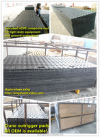 hdpe sheet floor ma/extruded plastic cover for ground protection system