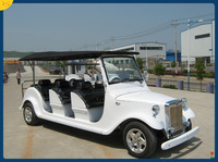 8 passengers used electric golf car for sale for tour,hotel