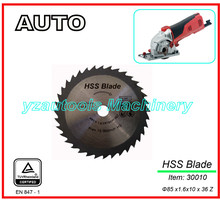 HSS TCT Circular Saw Blade For Metal Cutting