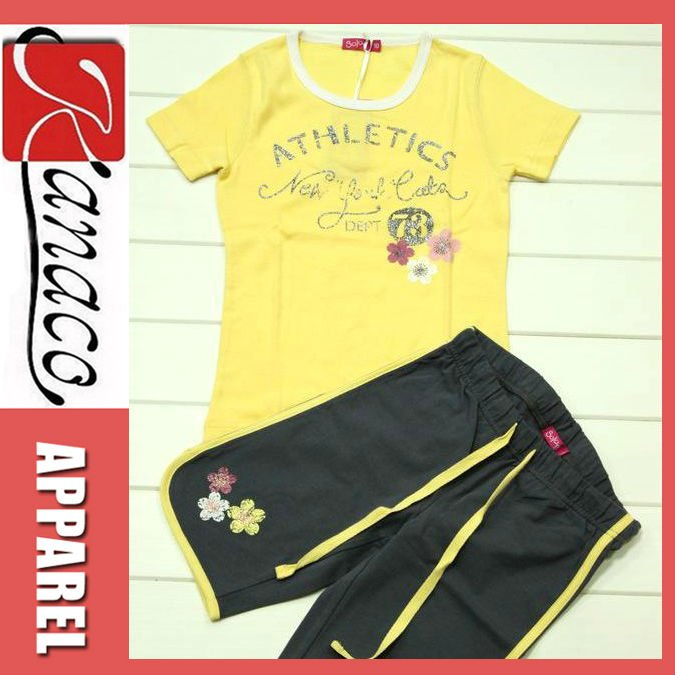 Wholesale Boutique Clothing/Kids Clothing Sets(KN-CS-30)