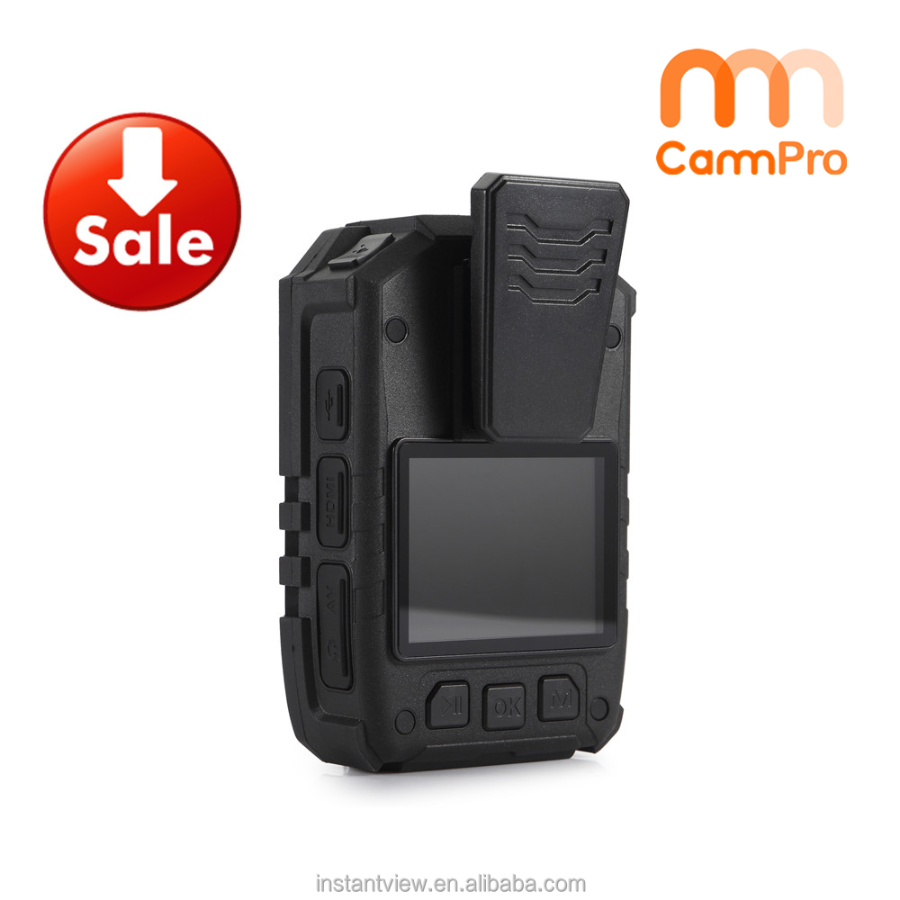 2016 CammPro I826 IP65 HD1296P 2900mAh Battery IR Night Vision Police Video Body Worn Camera