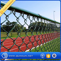 2015 hot new products rubber coated chain link fence