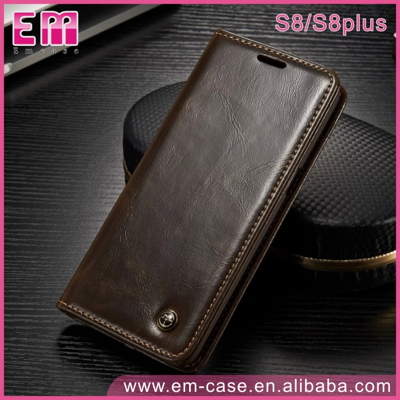CaseMe Stand Wallet Phone Case For Samsung Galaxy S8 plus S8 Leather Case