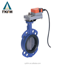 TKFM hot selling motorised inox garden tools wafer type butterfly valve eccentricity dn1000 ductil iron