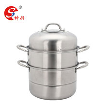 3 layers stainless steel steamer pot couscous pot with 2 mesh