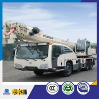 best selling 5 section telescopic boom 25 ton truck crane for sale.