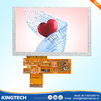 5 inch 800*480 resistive touch screen controller