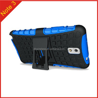 shockproof kickstand mobile phone case for Samsung Galaxy Note 3