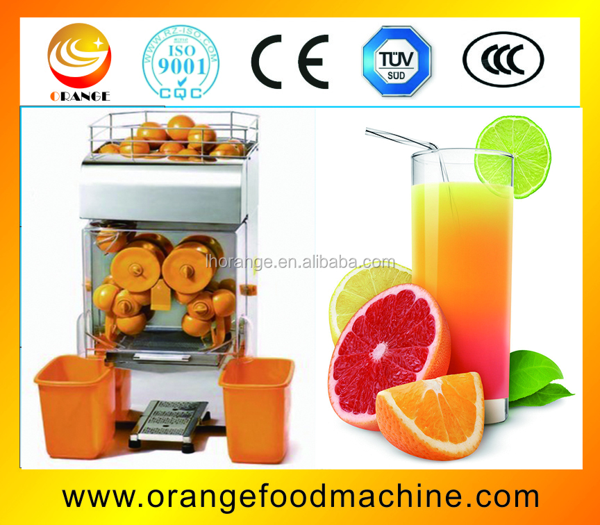 Stainless steel commercial fruit juice making machine for orange juicer
