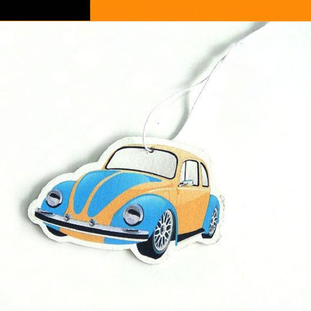 Car Shape Perfume Hanging Fragrant Paper Car Air Freshener