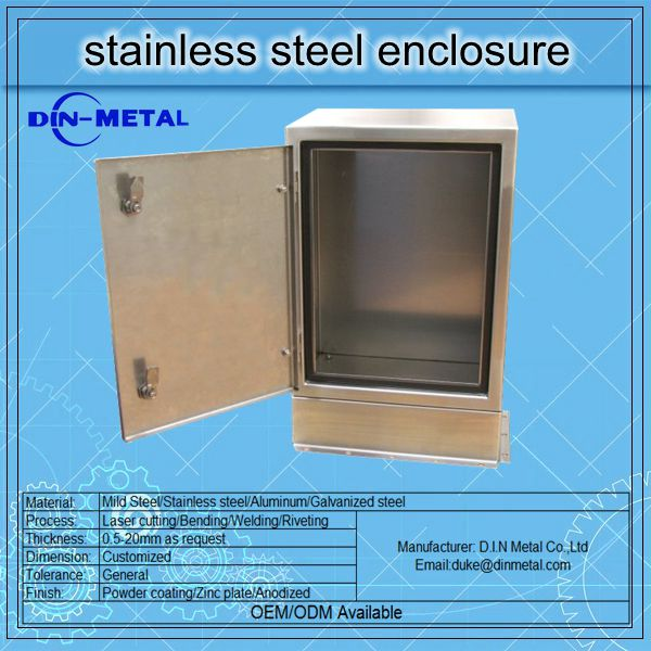xiamen panel wall mounted sheet steel metal enclosure indoor and outdoor IP65 metal box