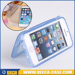 Wholesale full protector TPU cover for iphone 6 6s soft flip TPU case