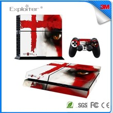 Quality top sell vinyl skin sticker for ps4 Console Controller